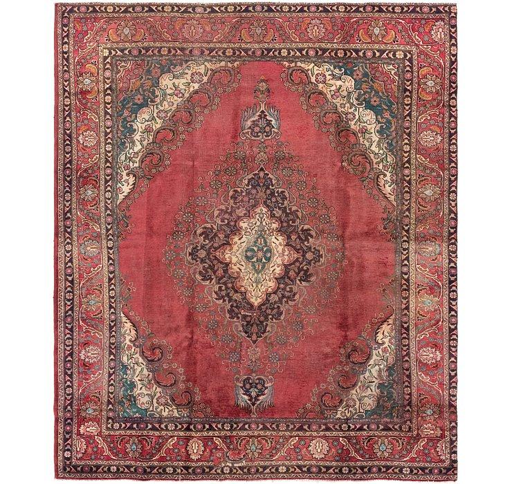 9' 2 x 11' 4 Tabriz Persian Rug