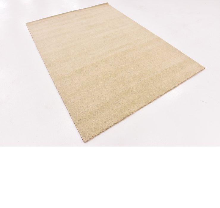 HandKnotted 5' 5 x 7' 6 Indo Gabbeh Rug