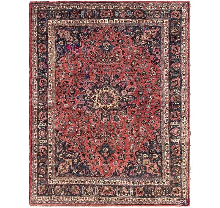 10' x 12' 6 Mashad Persian Rug