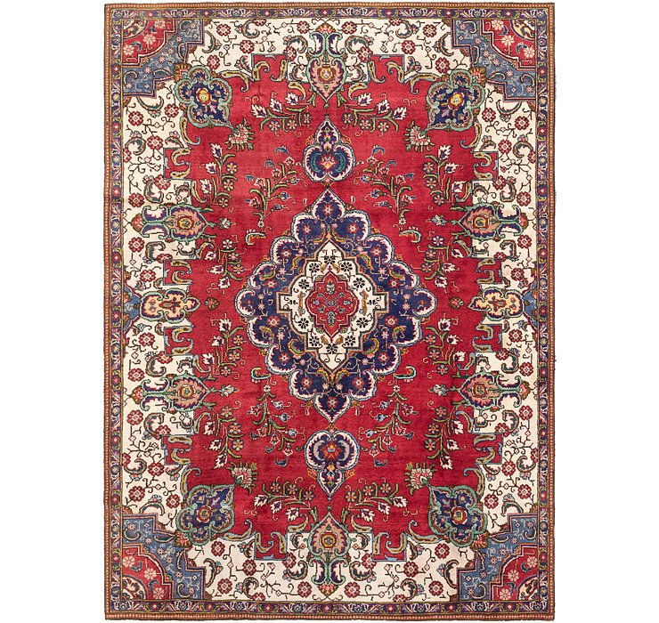 7' 6 x 10' 6 Tabriz Persian Rug