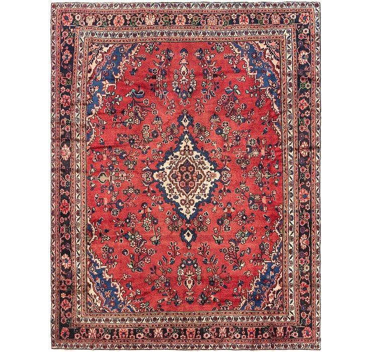 8' 4 x 11' Hamedan Persian Rug