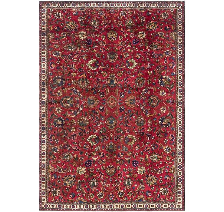 7' 2 x 10' 9 Tabriz Persian Rug