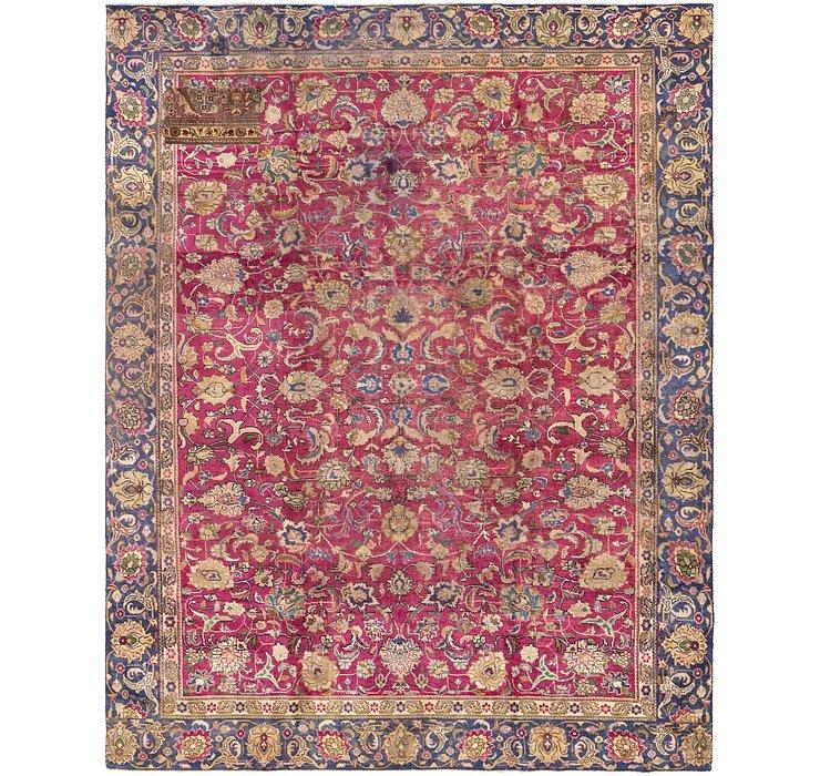 9' 3 x 11' 9 Tabriz Persian Rug