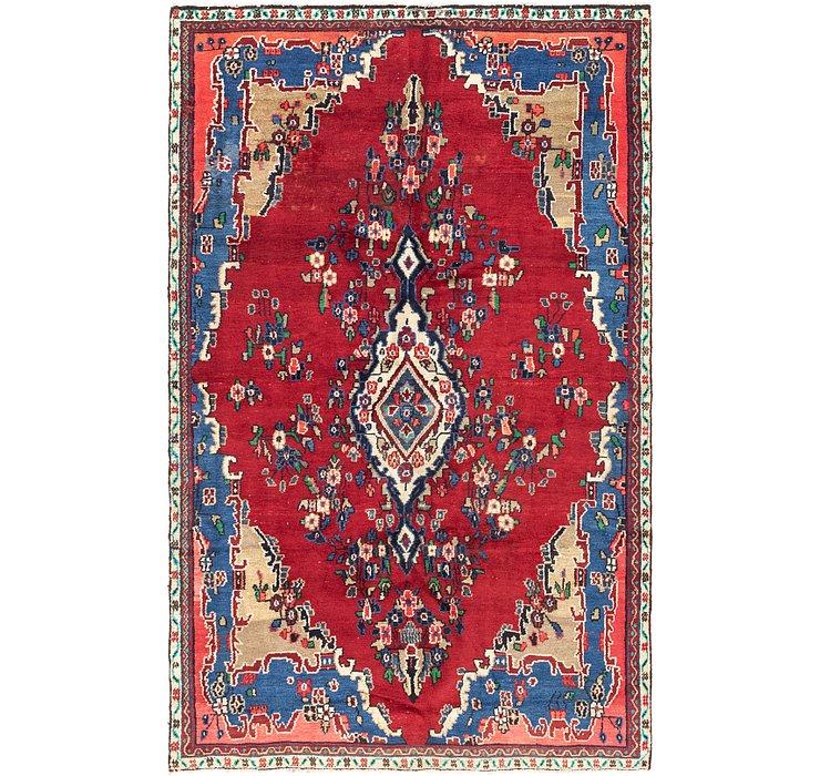 5' 9 x 9' 4 Hamedan Persian Rug