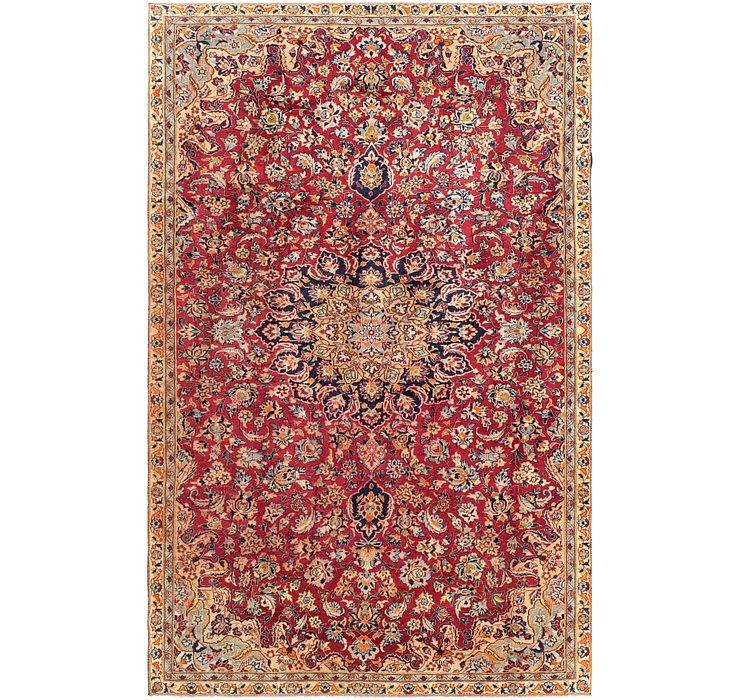 7' x 10' 10 Isfahan Persian Rug