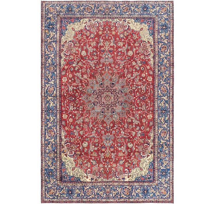 9' 6 x 14' 7 Isfahan Persian Rug