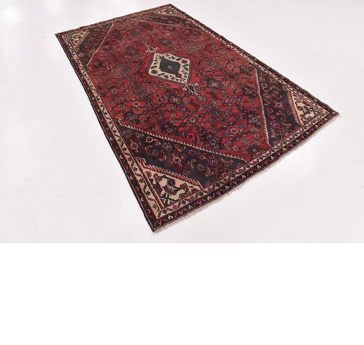HandKnotted 5' x 8' 2 Hamedan Persian Rug