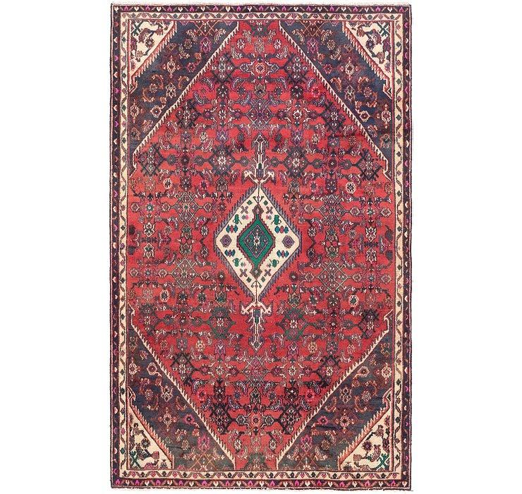 5' x 8' 2 Hamedan Persian Rug