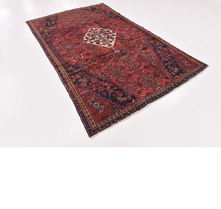 HandKnotted 5' 7 x 9' 2 Hamedan Persian Rug