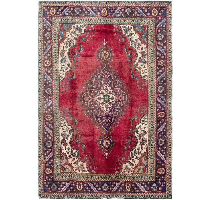 6' 9 x 10' 2 Tabriz Persian Rug