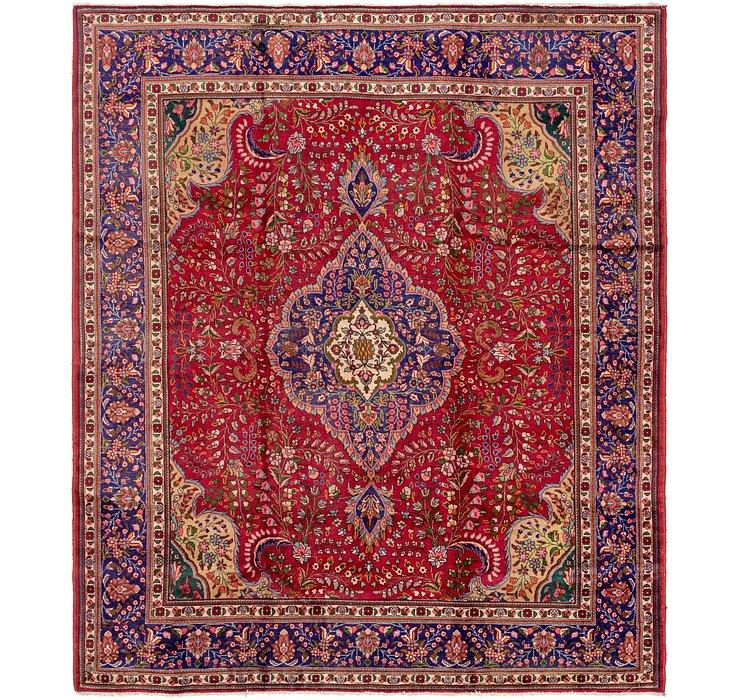 9' 7 x 11' 3 Tabriz Persian Rug