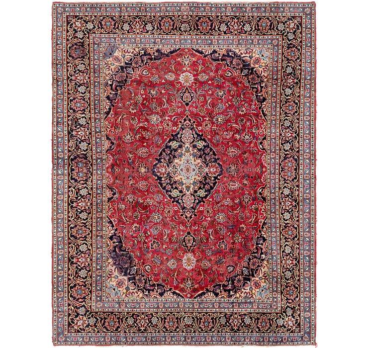 8' x 10' 10 Kashan Persian Rug