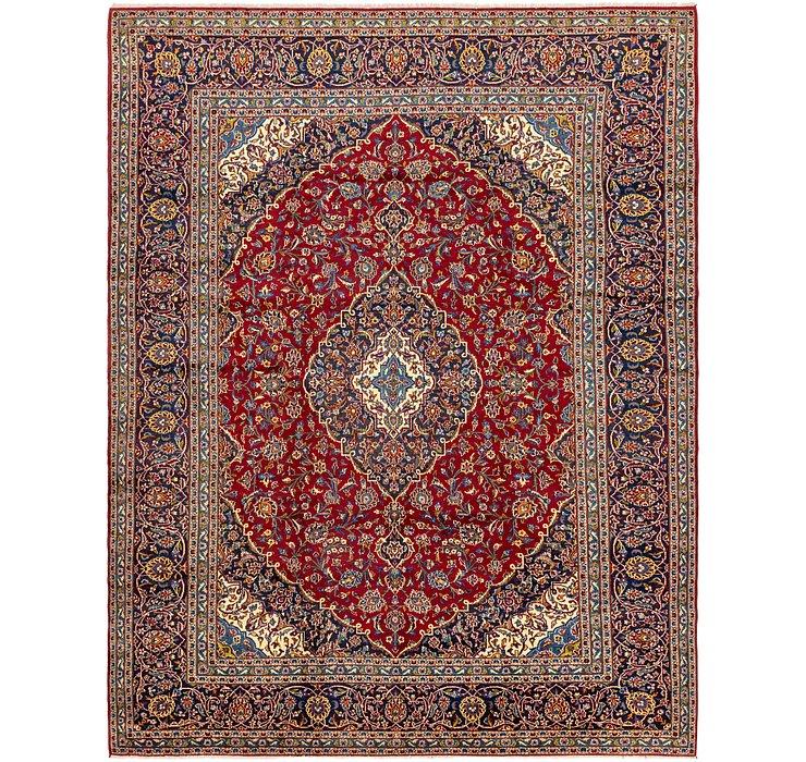10' x 12' 9 Kashan Persian Rug