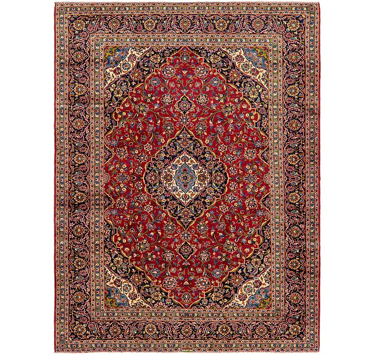 HandKnotted 10' x 13' 6 Kashan Persian Rug