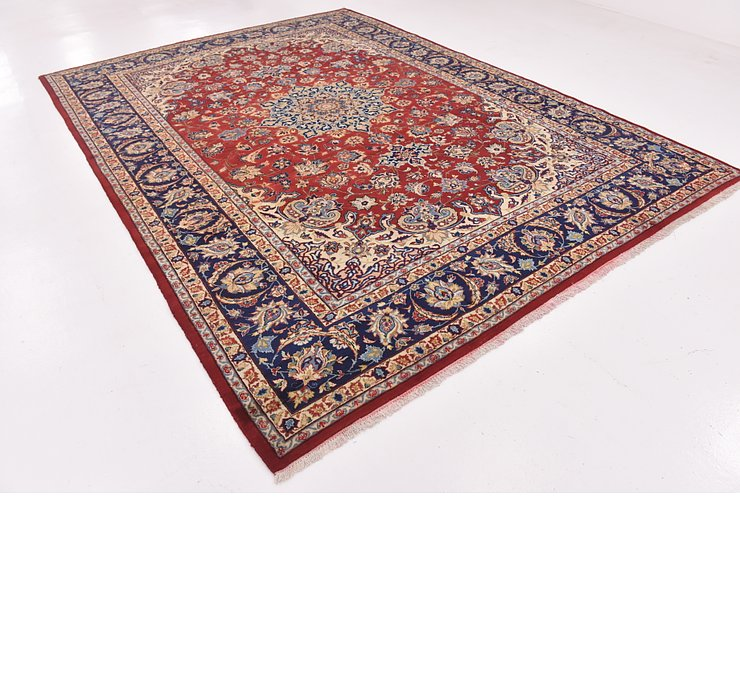 8' 9 x 11' 10 Isfahan Persian Rug