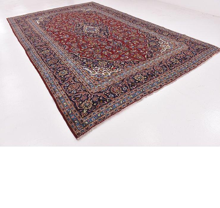9' 4 x 14' 6 Kashan Persian Rug