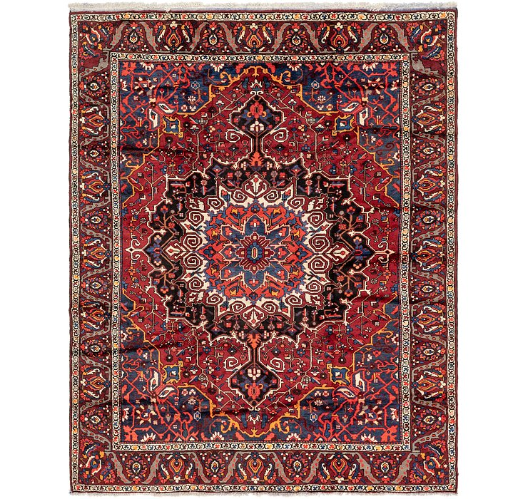 9' 9 x 12' 4 Bakhtiar Persian Rug