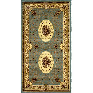 Link to 4' 2 x 7' 7 Classic Aubusson Rug item page