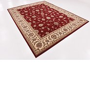 Link to 7' 10 x 10' Kashan Design Rug