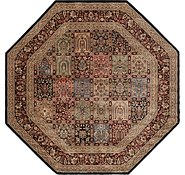 Link to 7' 8 x 7' 9 Isfahan Design Octagon Rug