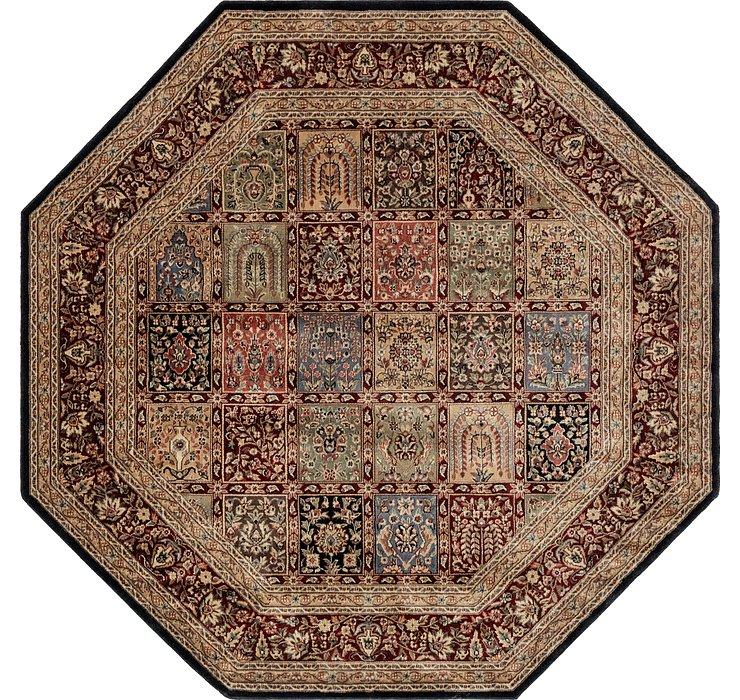 235cm x 235cm Isfahan Design Octagon ...