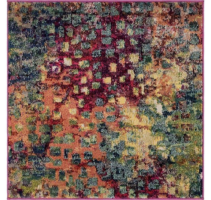 3' x 3' Barcelona Square Rug