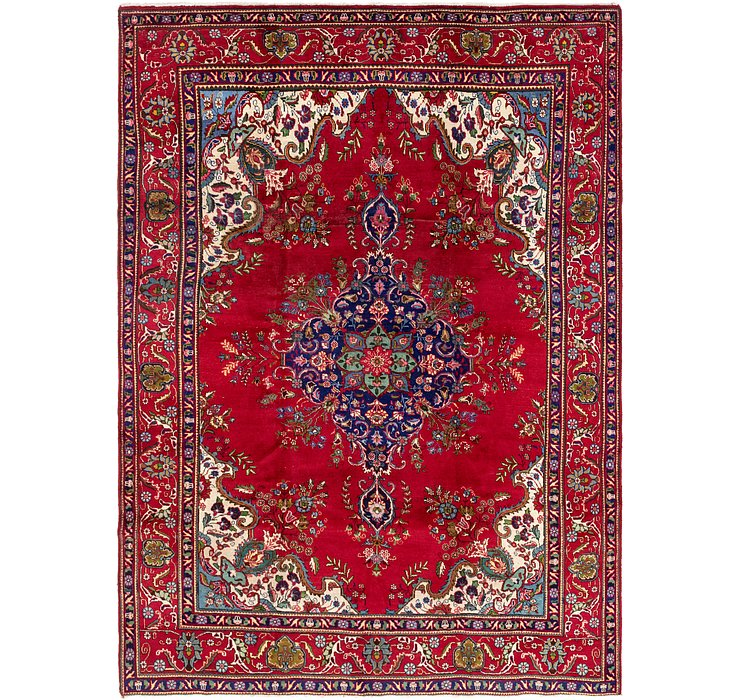 HandKnotted 9' 6 x 13' Tabriz Persian Rug