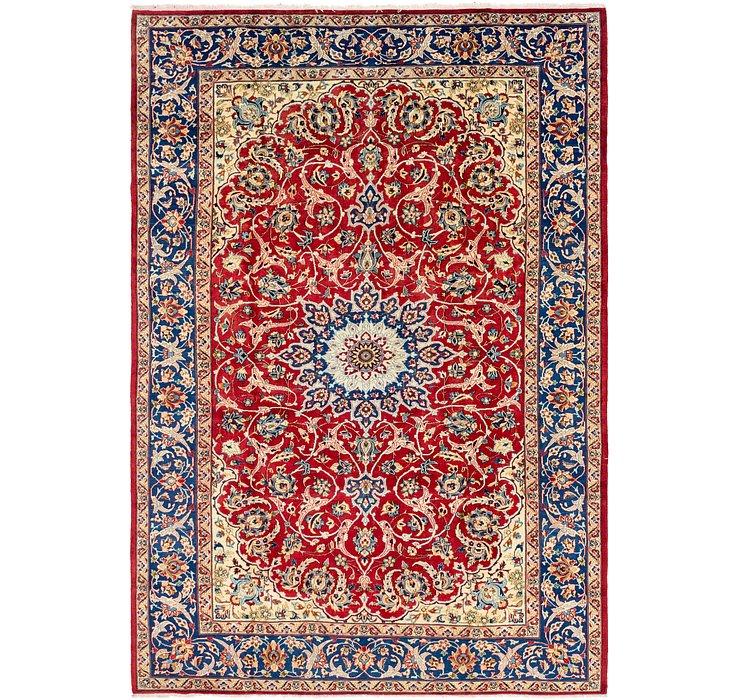 8' x 12' Isfahan Persian Rug