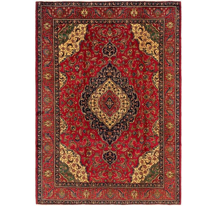 9' x 12' 6 Tabriz Persian Rug