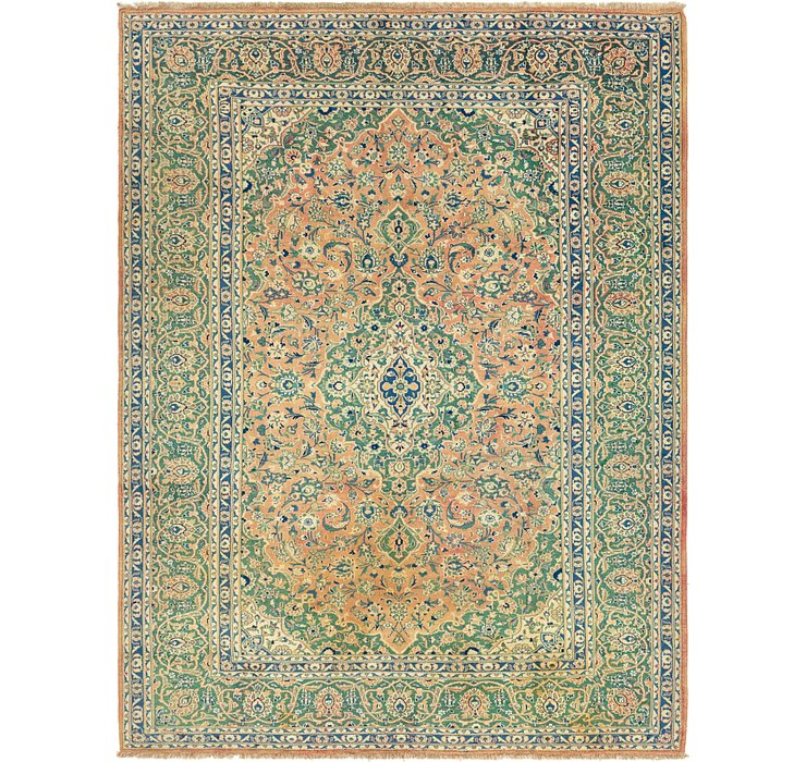8' x 11' 2 Mashad Persian Rug