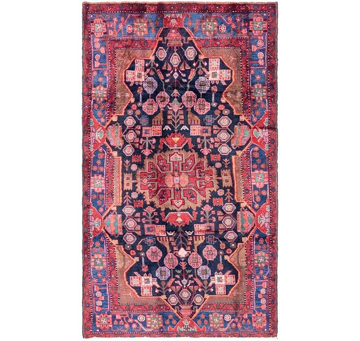 4' 9 x 8' 7 Nahavand Persian Rug