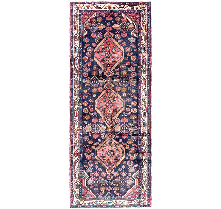 3' 10 x 10' 3 Darjazin Persian Runner...