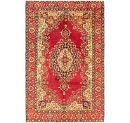 Link to 7' x 11' Tabriz Persian Rug