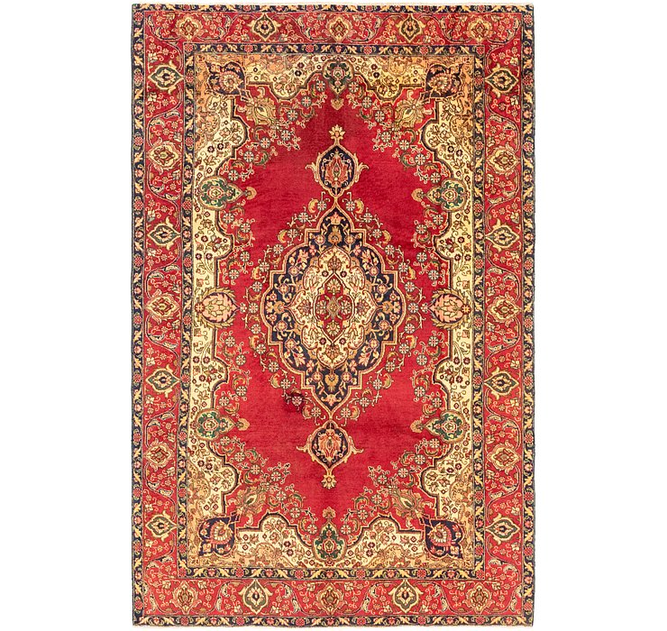 7' x 11' Tabriz Persian Rug