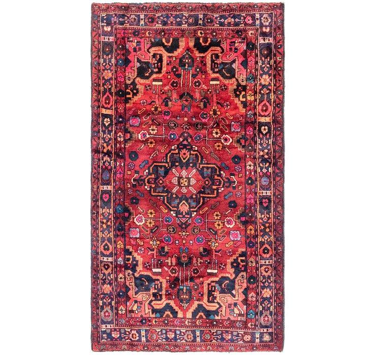 4' 8 x 9' Hamedan Persian Rug