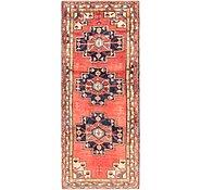 Link to 4' 4 x 11' Hamedan Persian Runner Rug