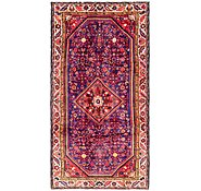 Link to 157cm x 328cm Hossainabad Persian Runner Rug