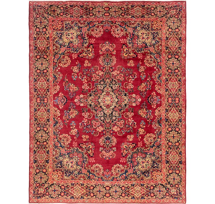 10' 7 x 13' 7 Yazd Persian Rug