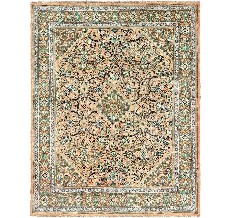 10' x 12' 6 Mahal Persian Rug
