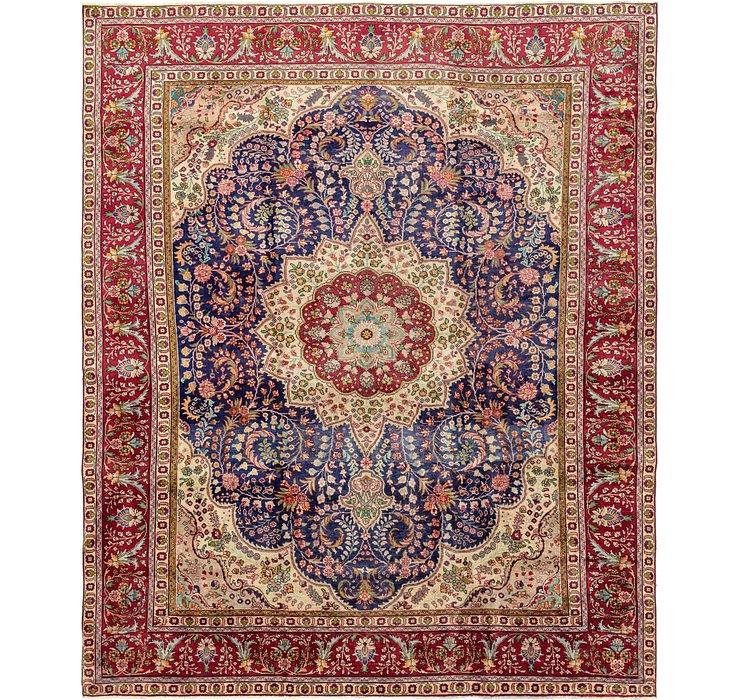 9' 9 x 12' 1 Tabriz Persian Rug