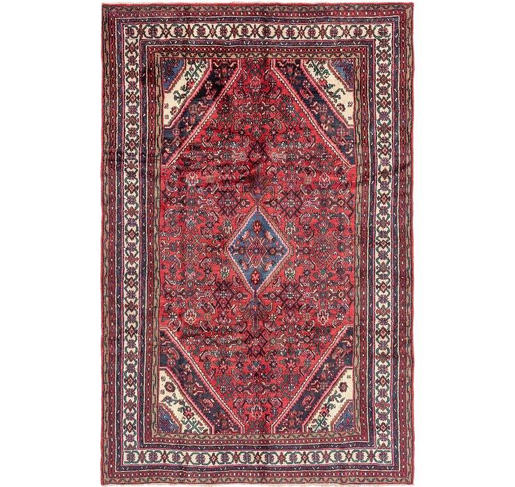 205cm x 315cm Hamedan Persian Rug