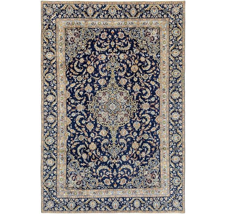 9' 1 x 13' 6 Kashan Persian Rug