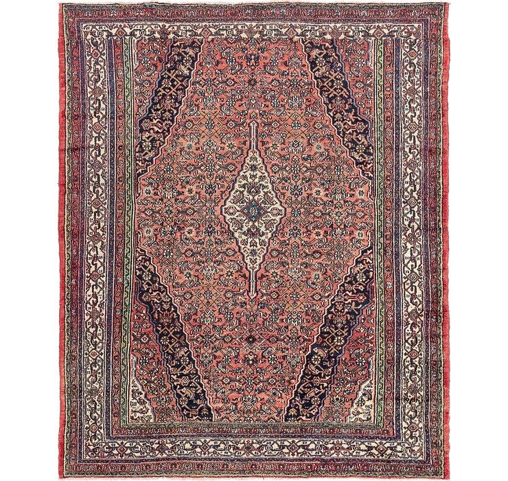8' 8 x 10' 7 Hamedan Persian Rug