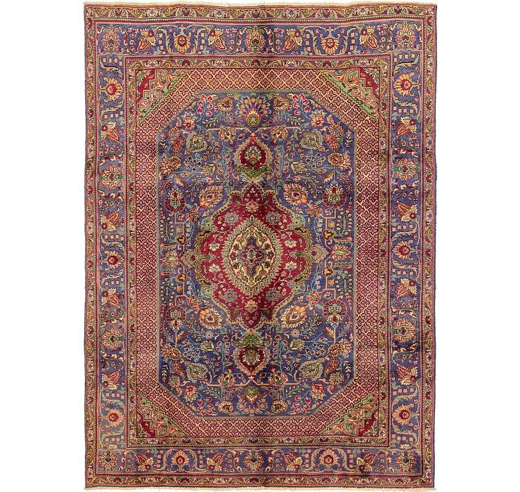 6' 10 x 9' 9 Tabriz Persian Rug