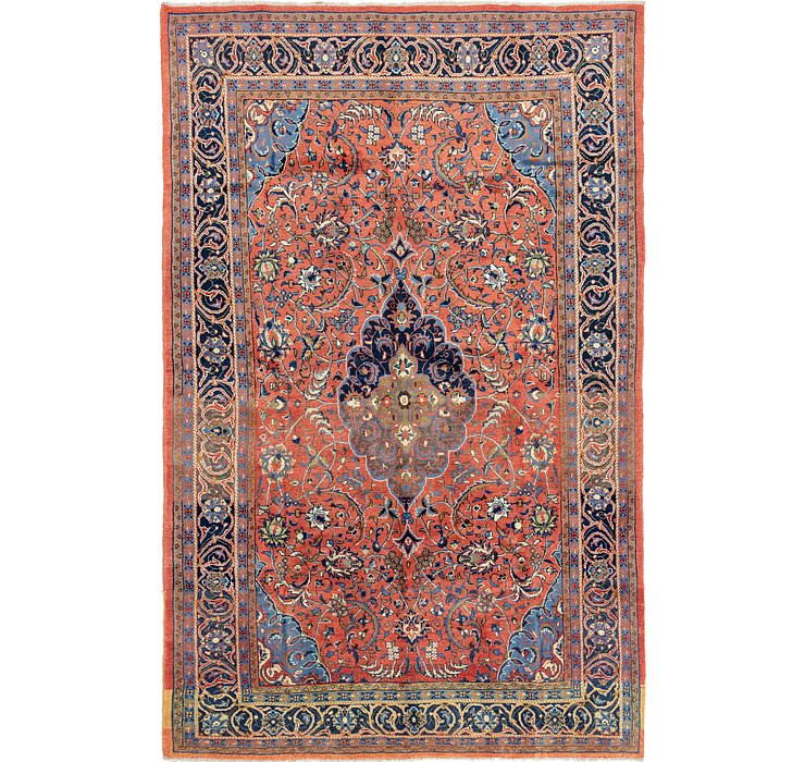 235cm x 375cm Golpayegan Persian Rug