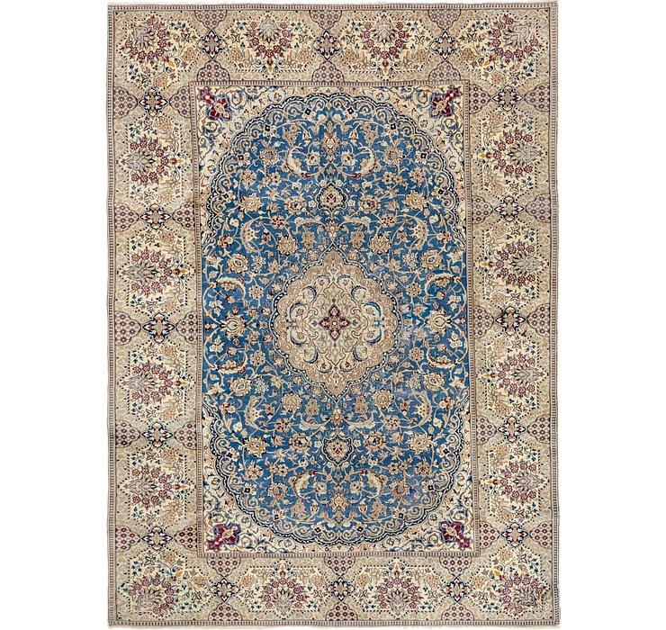 245cm x 343cm Nain Persian Rug