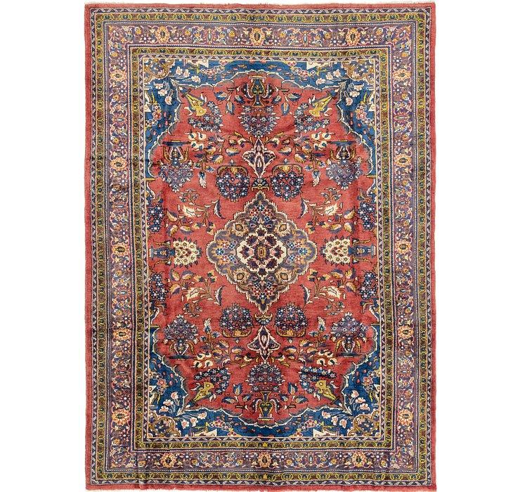 7' 3 x 10' 2 Golpayegan Persian Rug