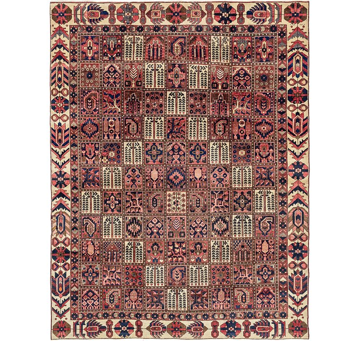 9' 5 x 12' 3 Bakhtiar Persian Rug