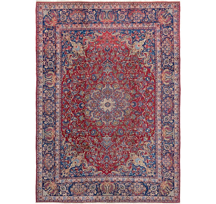 9' 4 x 12' 3 Isfahan Persian Rug