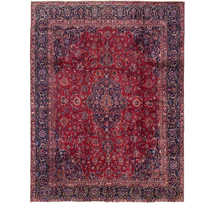 9' 1 x 12' 1 Mashad Persian Rug